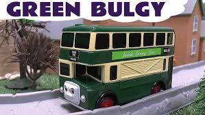 thomas friends spotlight green bulgy bus tomy takara