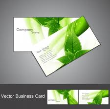 Free Graphics For Business Cards Green Color Stylish Business Card Design Free Vectors Ui Download