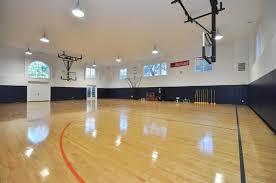 Indoor Basketball Court Flooring Flooring Designs - Home basketball court design