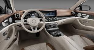 classic mercedes models new 2017 mercedes benz e class interior raises the bar slashgear