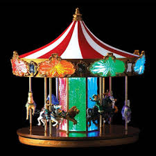 animated decorations animated jubilee carousel by mr