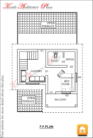 Home Design For 750 Sq Ft by 1 Bedroom House Plans Kerala Style