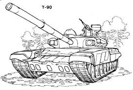 free coloring pages boys girls technique tanks vehicles