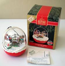 hallmark ornament forest frolics magic light motion from