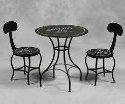 Black Bistro Table Attractive Restaurant Table And Chairs Marceladick Bistro