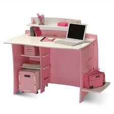 Walmart Com Computer Desk by No Tools Assembly Desk Pink And White Walmart Com