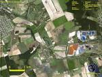 Satellite Image of Kolontar, Ajka, Hungary Before the Ajka Alumina ...