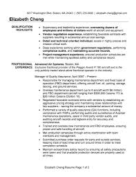 Qtp 2 Years Experience Resume Sample Resume For It Qa Manager Information Technology Resume