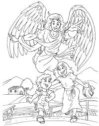 angel color pages god u0027s protection coloring pages google search children u0027s