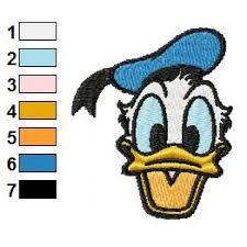 Donald Duck Face Meme - duck face embroidery design 03