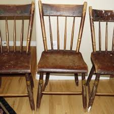 Antique Wooden Armchairs Old New England Wooden Kitchen Chairs Collectors Weekly