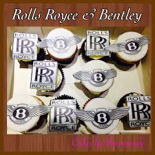 bentley van rolls royce u0026 bentley cupcakes frosty print op een schild van