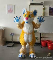oisk custom male fursuit dog fox mascot costume for halloween