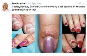 fake u0027gel u0027 based nail polishes can damage your nails