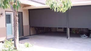 retractable motorized patio screens youtube