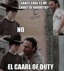Memes The Walking Dead - los mejores memes de carl y rick de the walking dead series tv
