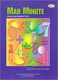 amazon com mad minute mastering number facts grades1 8