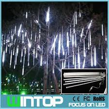 led meteor shower tube lights 50cm 100v 240v led meteor tube romantic meteor shower rain tubes