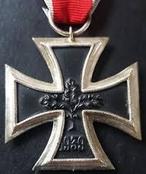 7840 german iron cross ii class medal post ww2 1957 pattern