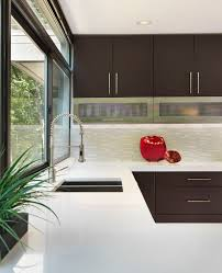 hanstone for a modern kitchen with a countertops and oil rubbed