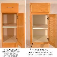 framed vs frameless cabinets european frameless vs american face frame cabinetry sweetwood