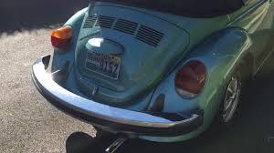 1979 vw volkswagen beetle convertible 1979 volkswagen beetle convertible in river blue metallic youtube