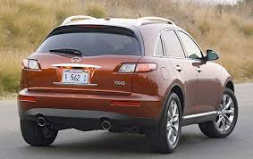 2007 infiniti fx45 information and photos zombiedrive