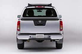 nissan frontier rear bumper replacement cummins powered nissan frontier concept versa note sr debut at