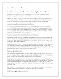 create a cover letter cover letter for resume format always use