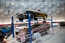 corvette restoration shops corvette museum commemorates sinkhole s third anniversary with