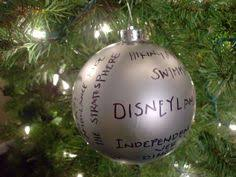 9 themed craft projects ornament and wedding