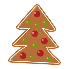 christmas cookie vector icon stock vector image 78864228
