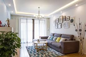 Scandinavian Livingroom 98 Square Meter Living Room With Scandinavian Design Interior Design