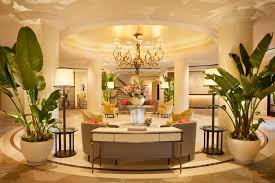 Hollywood Regency Dining Room by Beautiful Arrangement Inside Of The Beverly Hills Hotel