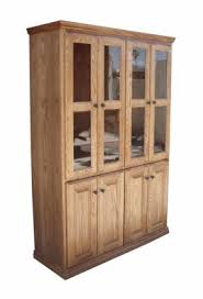 Cheap Oak Bookcases Oak Bookcases With Glass Doors Foter