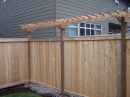 fence trellis crafts home