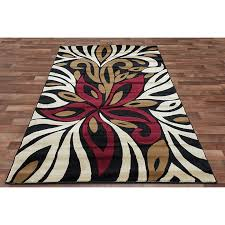 Overstock Area Rug Black And Beige Area Rugs Visionexchange Co