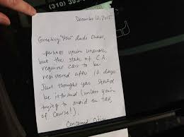 How To Write A Thank You Letter To A Business by The Parking Letters The Morning News
