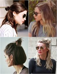 hair buns top knot half up half down half bun a pinterest