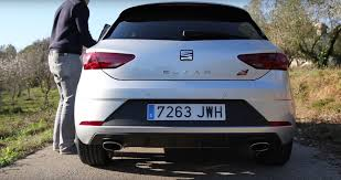 seat leon cupra 300 this is what it sounds like these are its