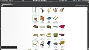 sweet home design software free download sweet home 3d u2013 importing 3d furniture models youtube
