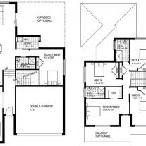 blueprint house plans home architecture advanced house plan storey brilliant two plans