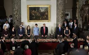 inaugural luncheon head table donald trump s first global trade flashpoints as president