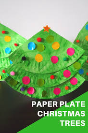 paper plate christmas tree craft be a fun mum