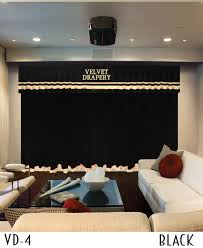 Velvet Home Theater Curtains Curtains For Home Theater Movie Stage Drapes