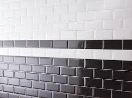 faience cuisine brico depot métro noir biseauté pour application murale l 7 5 l 15 cm ep 7
