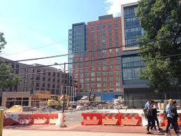 new 14 story rutgers apartment building set to open august 28