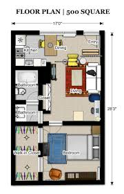 500 Sq Ft Studio 500 Square Feet Apartment Floor Plan Home Design Great Lovely