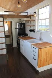 mahogany wood cherry raised door tiny house kitchen ideas sink