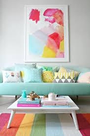 rainbow living room ideas to increase the positive energy in your home